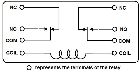 correct wiring 5 pin relay
