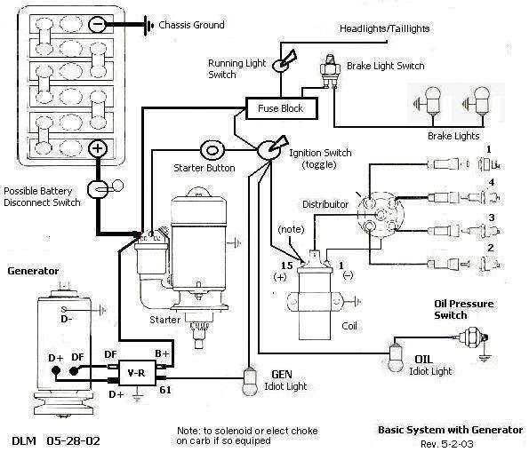 rebel dune buggy wiring harness diagram