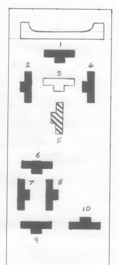 1968 vw fuse box