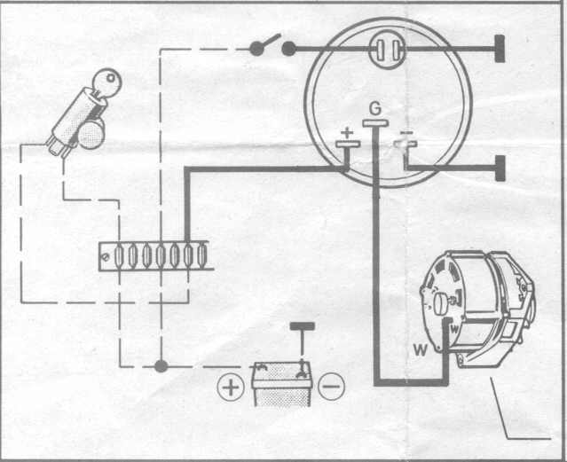 vdo tachometer wiring diagram car tuning