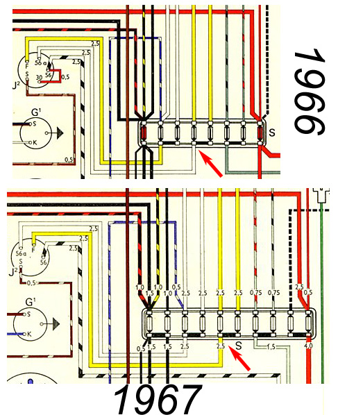 1967 Vw Wiring Diagram Index listing of wiring diagrams