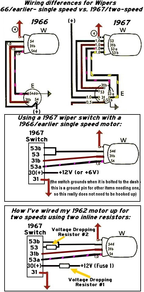 Wiper Motor Switch Wiring Diagram - Wiring Solutions