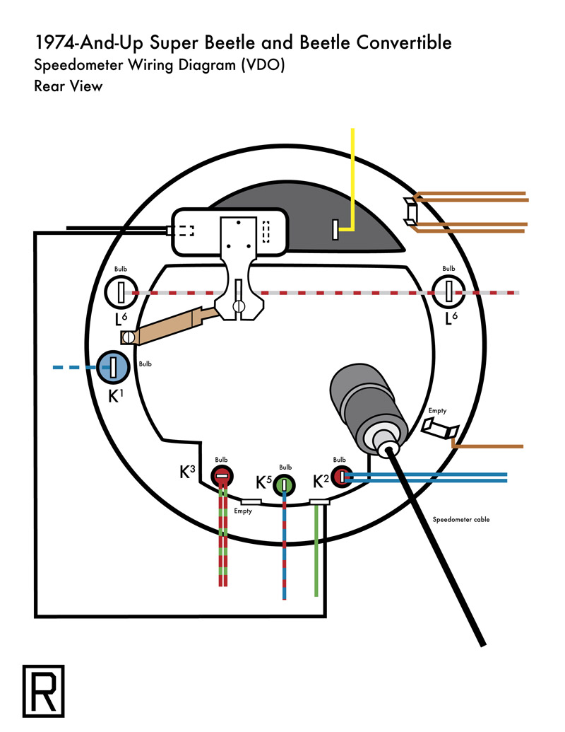 vw beetle turn signal wiring