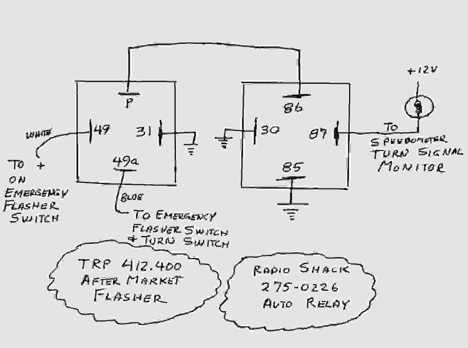 relay switch pin