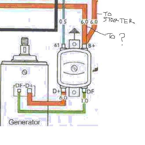 Vw Regulator Wiring - Wiring Diagrams