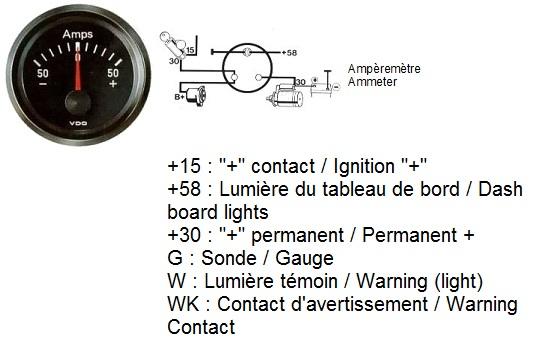 Amp Gauge Wiring Schematic Wiring Schematic Diagram