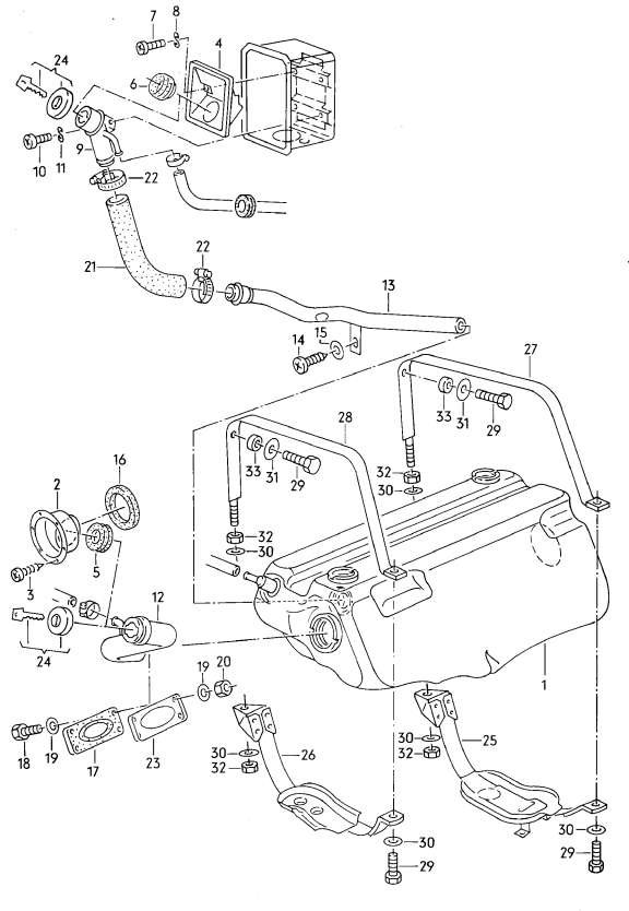 vanagon syncro fuel filter location