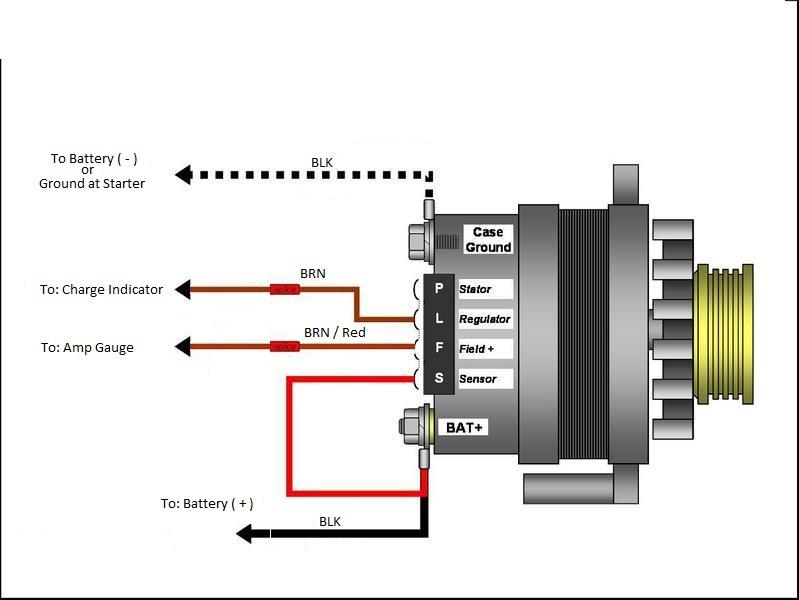 Volkswagen Alternator Wiring Diagram Wiring Diagram