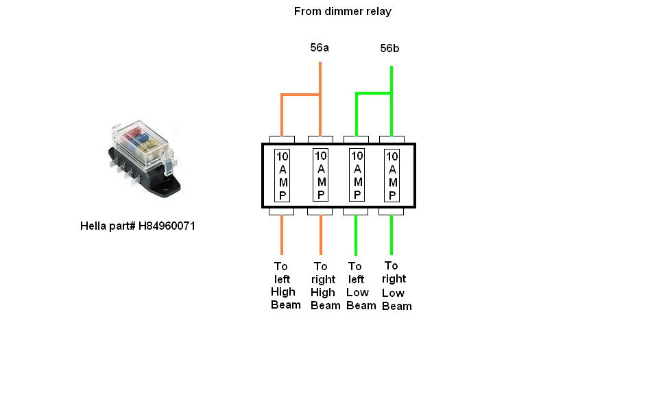 5 prong relay switch