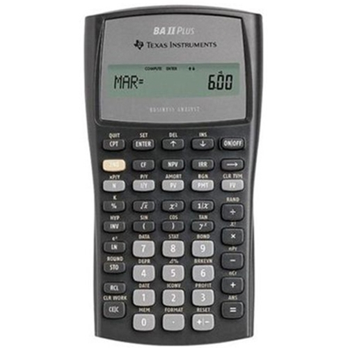 The ST Store - Texas Instruments BA II Plus Financial Calculator - financial calculator