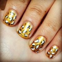 Cheetah/Leopard Print Nails - thesassylife