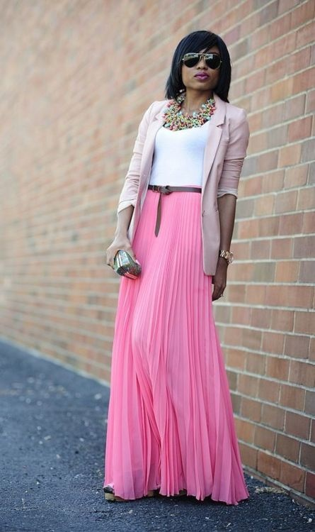 ways to wear a maxi skirt thesassylife