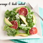 Blood Orange & Kale Salad