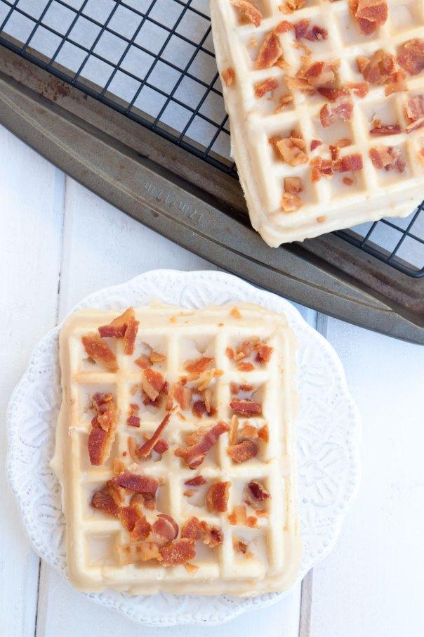 Maple Bacon Wonut (waffle doughnut/donut)