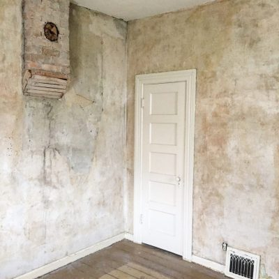 What To Do With Old Plaster Walls - The Schmidt Home