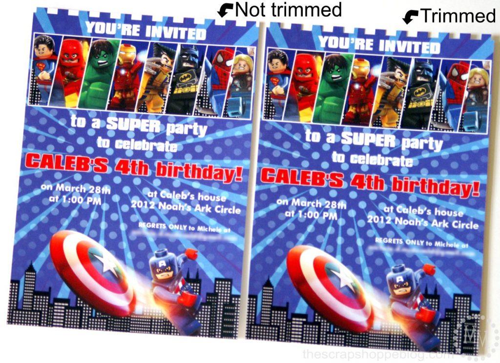 Sweet Lego Superhero Birthday Invitation Scrap Shoppe Superhero Birthday Invitations Ebay Superhero Birthday Invitations Etsy wedding invitation Superhero Birthday Invitations