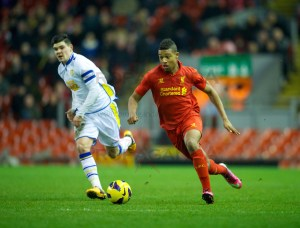 Football - FA Youth Cup 5th Round - Liverpool FC v Leeds United FC