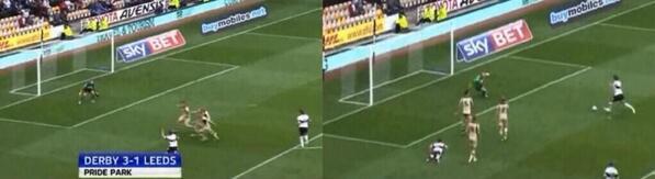 Leeds defending