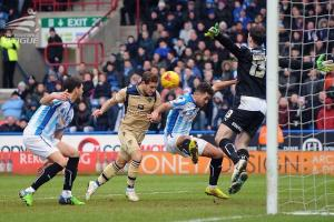 Billy Sharp v Huddersfield 2015