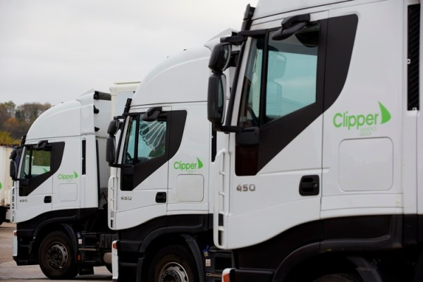 Clipper Logistics lorry 2