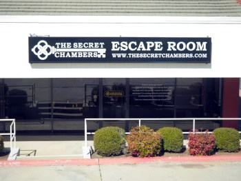 The Secret Chambers is located at the intersection of I-30 and Green Oaks Road in Fort Worth, TX
