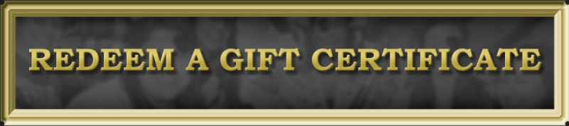 gift certificate redeem button