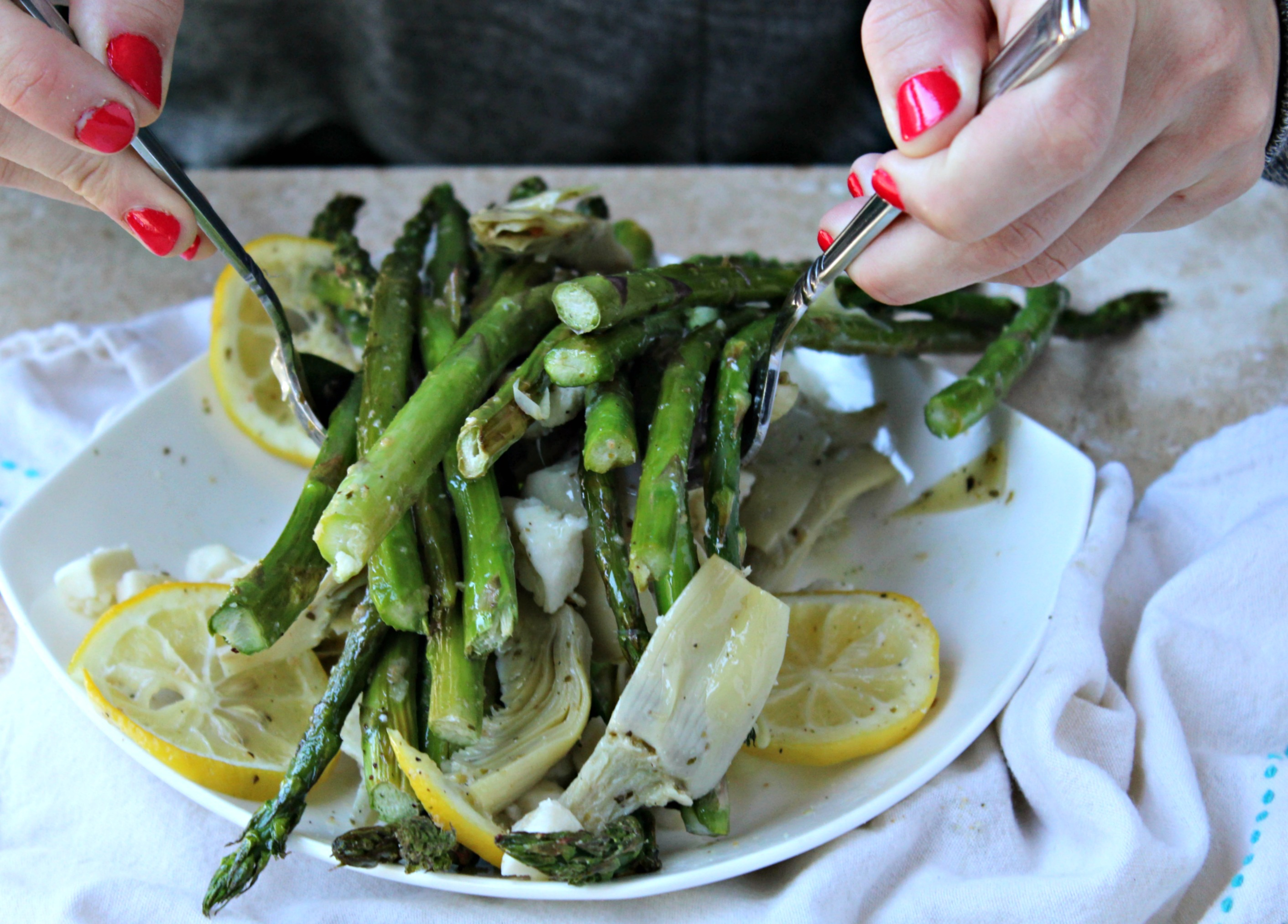 Asparagus Artichoke Salad Recipes — Dishmaps