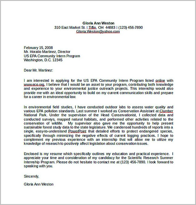 Cover Letter Example Free Download Cover-letter  Resume Examples