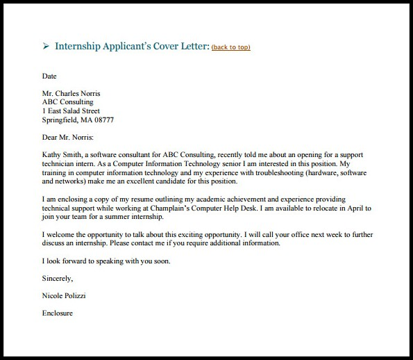 Resume Cover Letter Email Template Cover-letter  Resume Examples