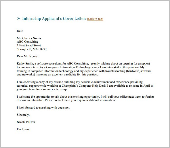 Sample Cover Letter For Resume Via Email Cover-letter  Resume Examples