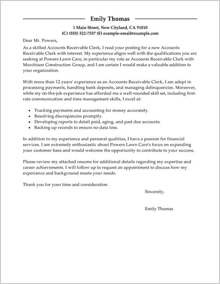 Accounts Payable Clerk Cover Letter Template Cover-letter  Resume
