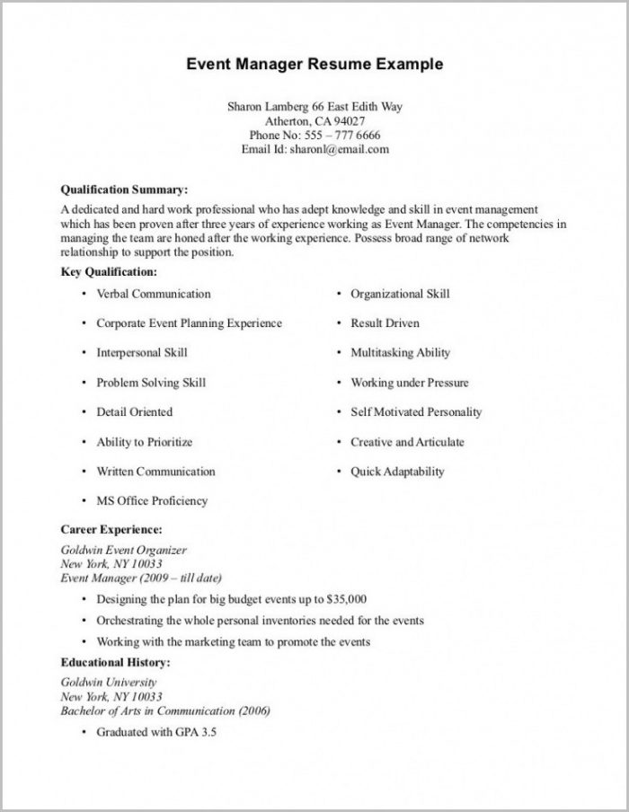 Sample Resume Cover Letter No Work Experience Cover-letter  Resume