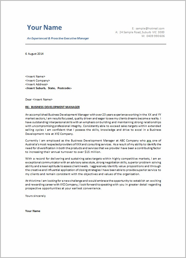 Cover Letter Examples For Resume Australia Cover-letter  Resume