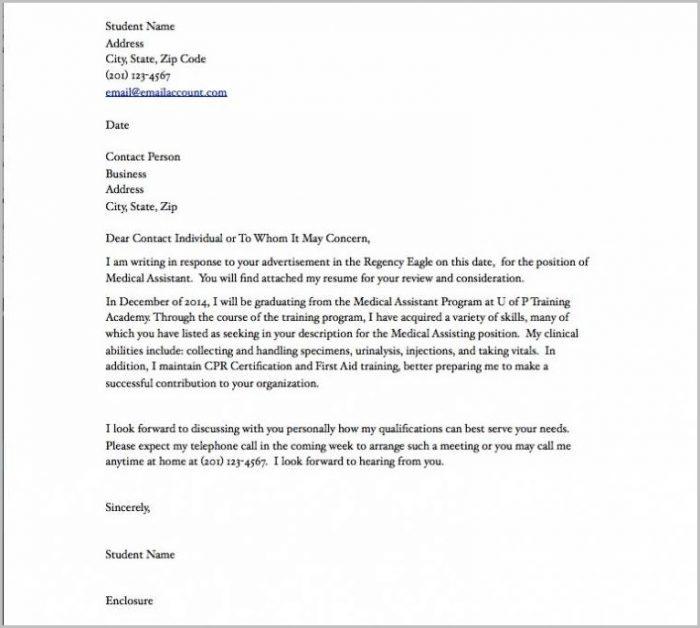 Sample Resume Cover Letter For Medical Assistant Cover-letter