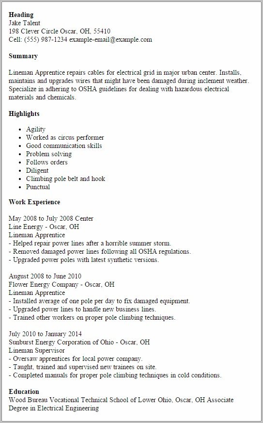 Industrial Electrician Cover Letter Sample - Resume Examples ...