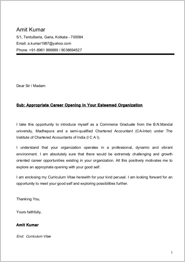 Sample Cover Letter For Assistant Professor Job In Engineering