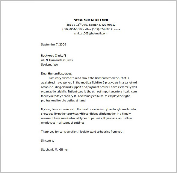 Nurse Cover Letter Templates For Free Cover-letter  Resume Examples