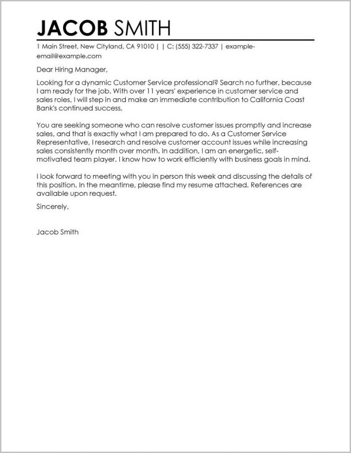 Customer Satisfaction Survey Cover Letter Cover-letter  Resume Examples