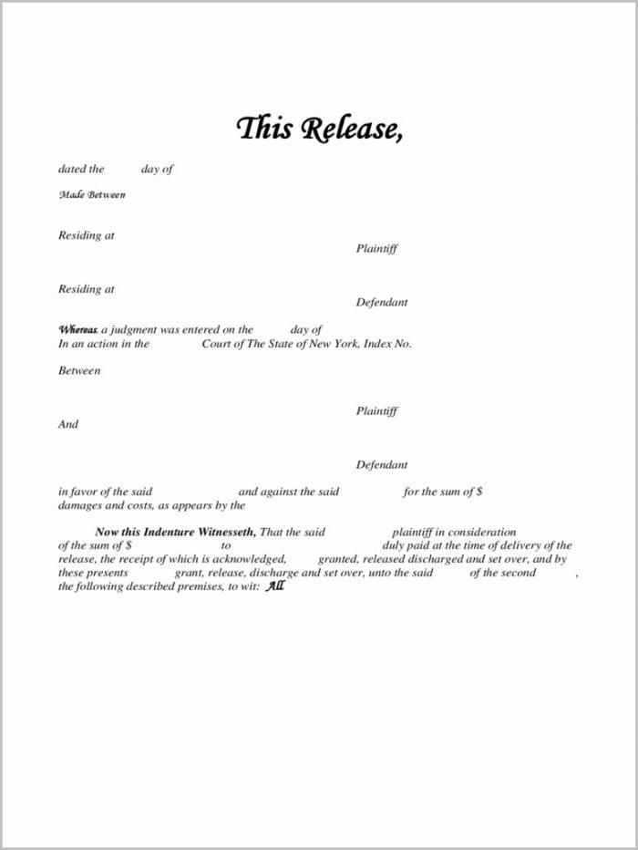 Lien Holder Release Form Georgia Form  Resume Examples