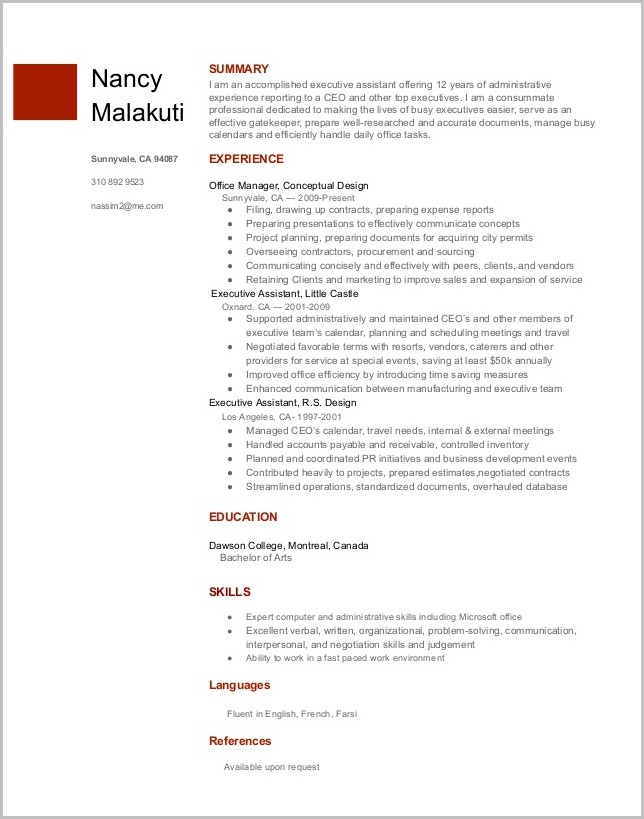 Free Resume Template For Google Docs Templates-1  Resume Examples