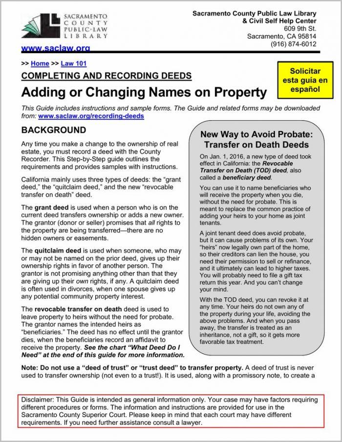 Grant Deed Form For San Bernardino County Templates-1  Resume Examples