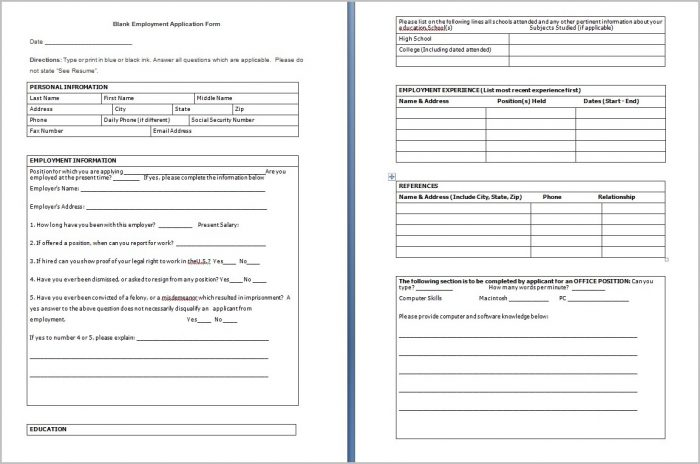 Create Fillable Pdf Forms In Word 2010 Form  Resume Examples