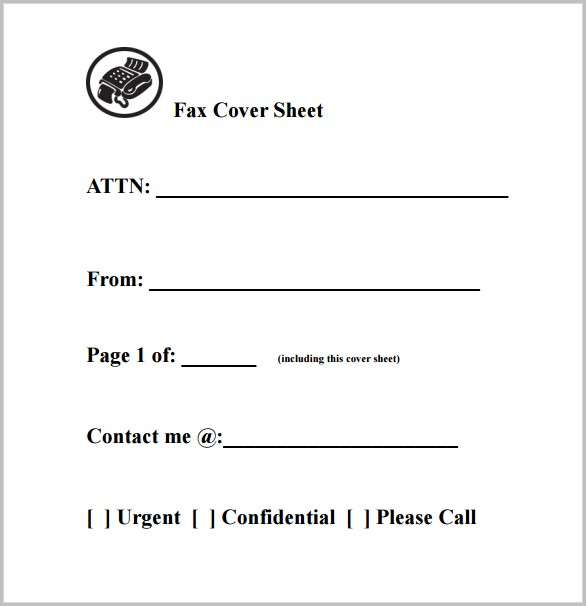 Printable Cover Letters Fax Cover-letter  Resume Examples