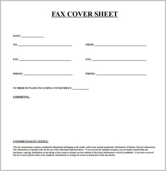 Printable Fax Cover Letter Pdf Cover-letter  Resume Examples