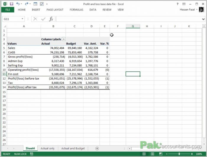 Profit Loss Formula Form  Resume Examples