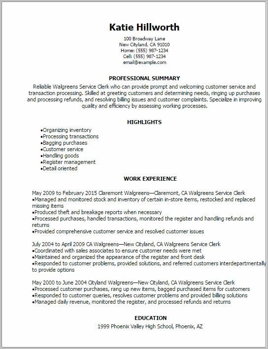 Walgreens Job Application Cashier Job-applications  Resume Examples