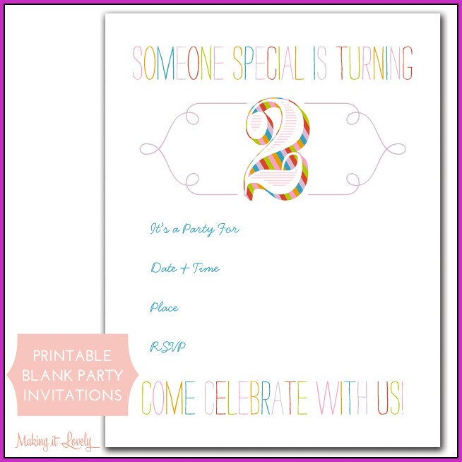 Online Birthday Invitation Maker For Free