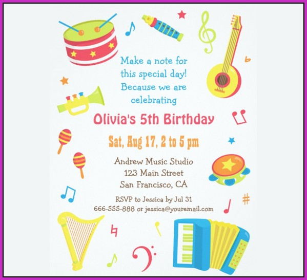 Birthday Invitation Templates Free Word Templates-1  Resume Examples