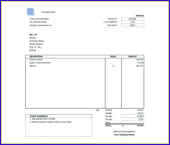 Free Invoice Template Wordpad Templates-1  Resume Examples