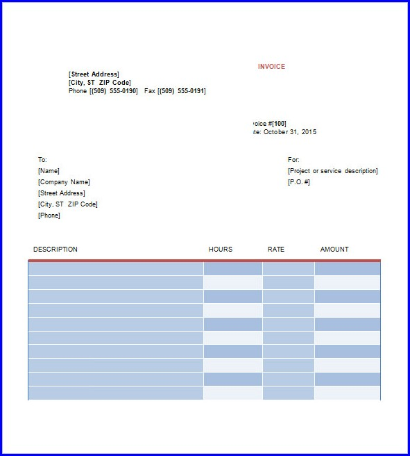 Freelance Graphic Design Invoice Template Pdf Templates-1  Resume